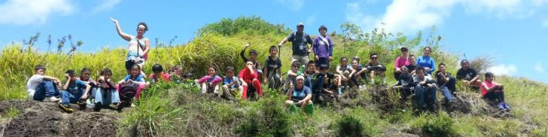 Tano hike in Southern Guam.